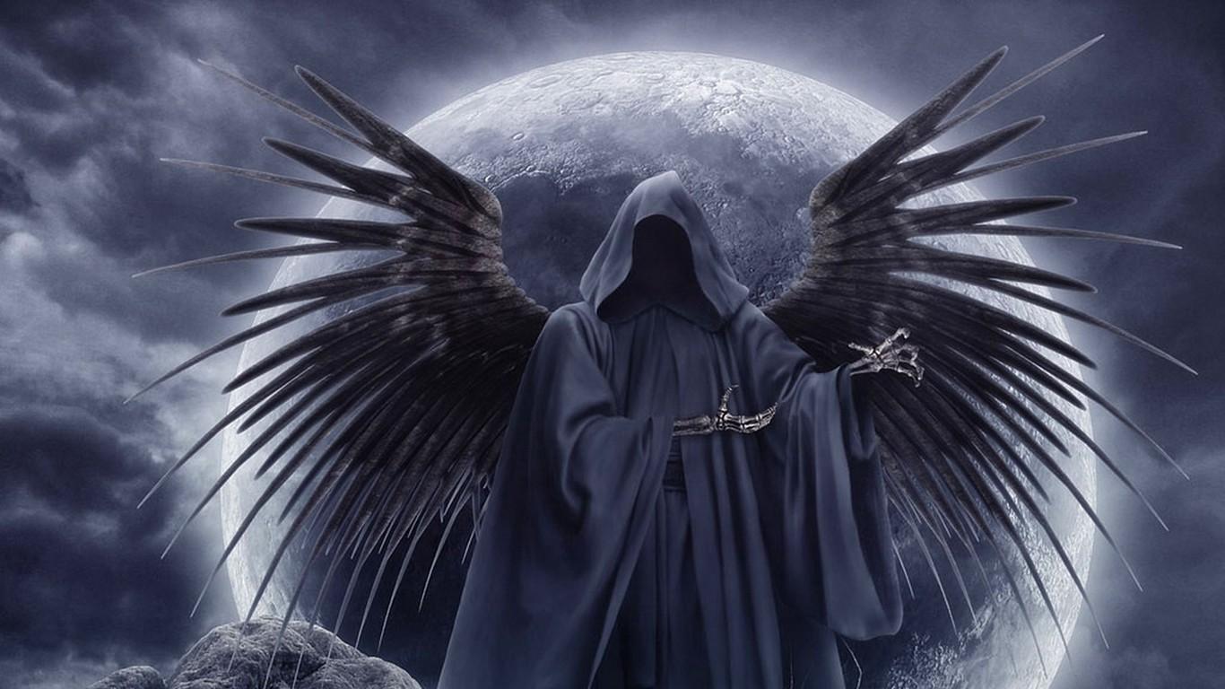 翼 死神 图片 六 翼 死神 骷髅 镰刀 纹身 等 最 好看 ...