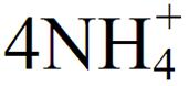 化学铵根离子符号