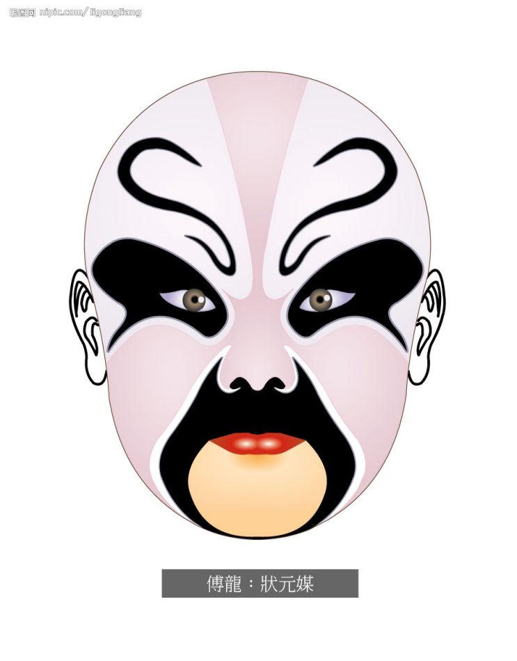 京剧脸谱的起源图片