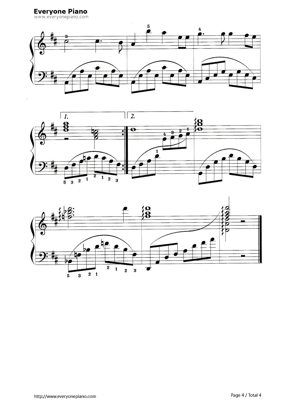 钢琴同一首歌f调左手弹什么和弦图片