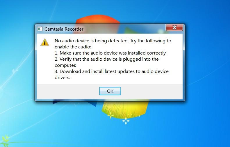 win7系统打开某些软件总是提示没安装声卡驱动