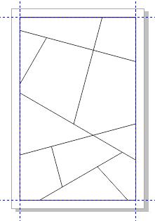 在cdr x6里如何填充由直线构成的图形里的颜色?图片