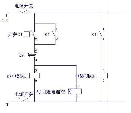 继电器接线图 电磁阀分享展示图片