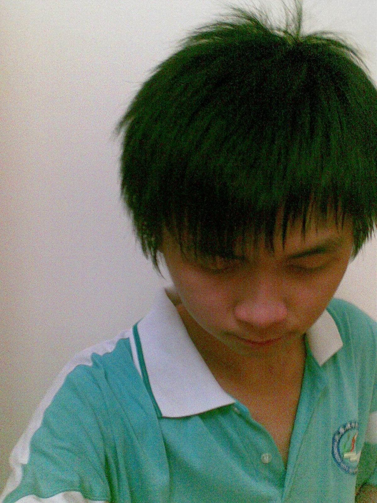 15岁男孩发型 高清图片