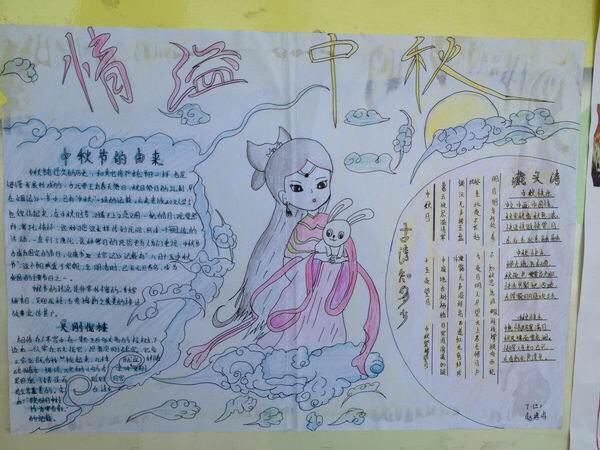 关于中秋节的手抄报怎么做