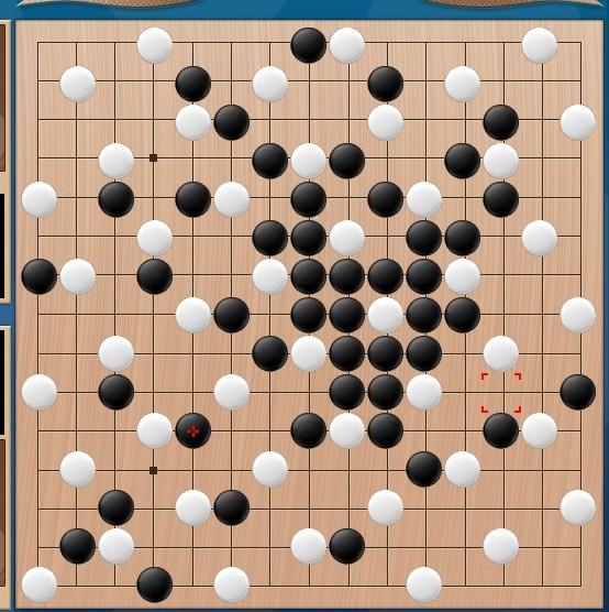这个白棋的走法是五子棋中的一种民间阵法图片