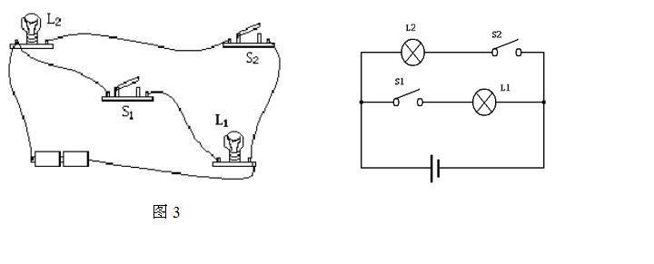 根据实物图画电路图 149 2010-12-15 初二物理题,根据实物图画个电路图片