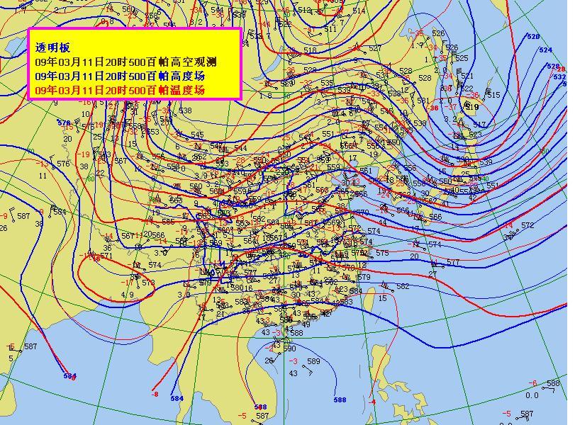 500百帕天气图问题图片