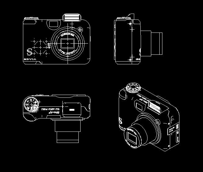 求产品三视图,cad格式图片