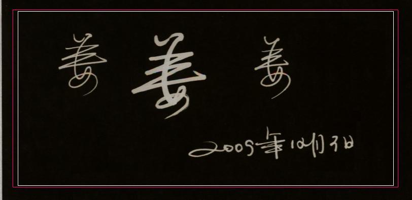 手字在田字格怎么写_签名中\