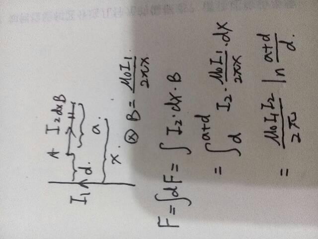 一边长为a和b的矩形线圈