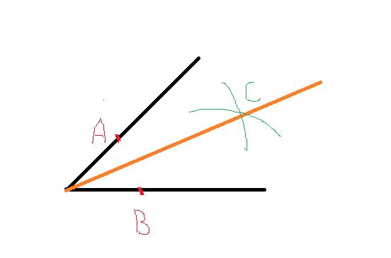 用圆规画角平分线视频