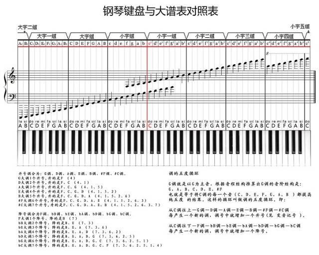 五线谱有首调和固定调的区别图片