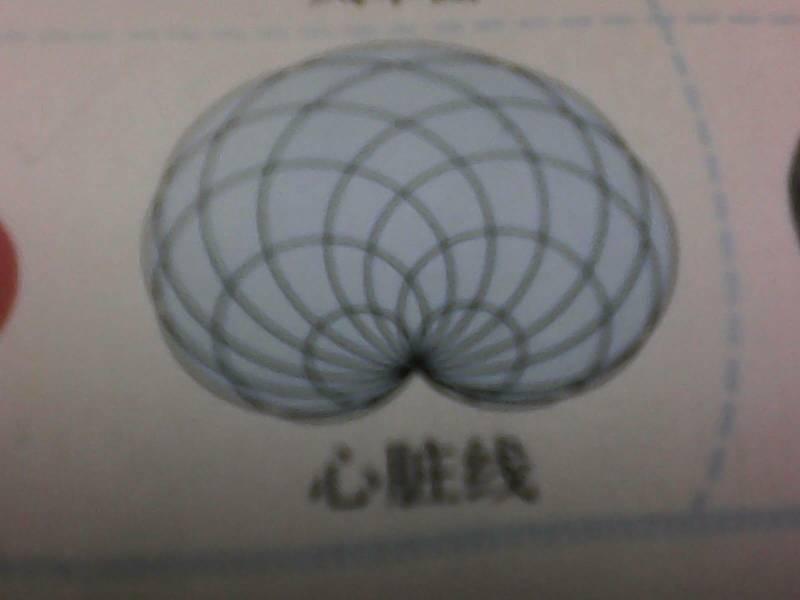 怎么画心脏线啊?看都看不懂,帮帮忙!图片