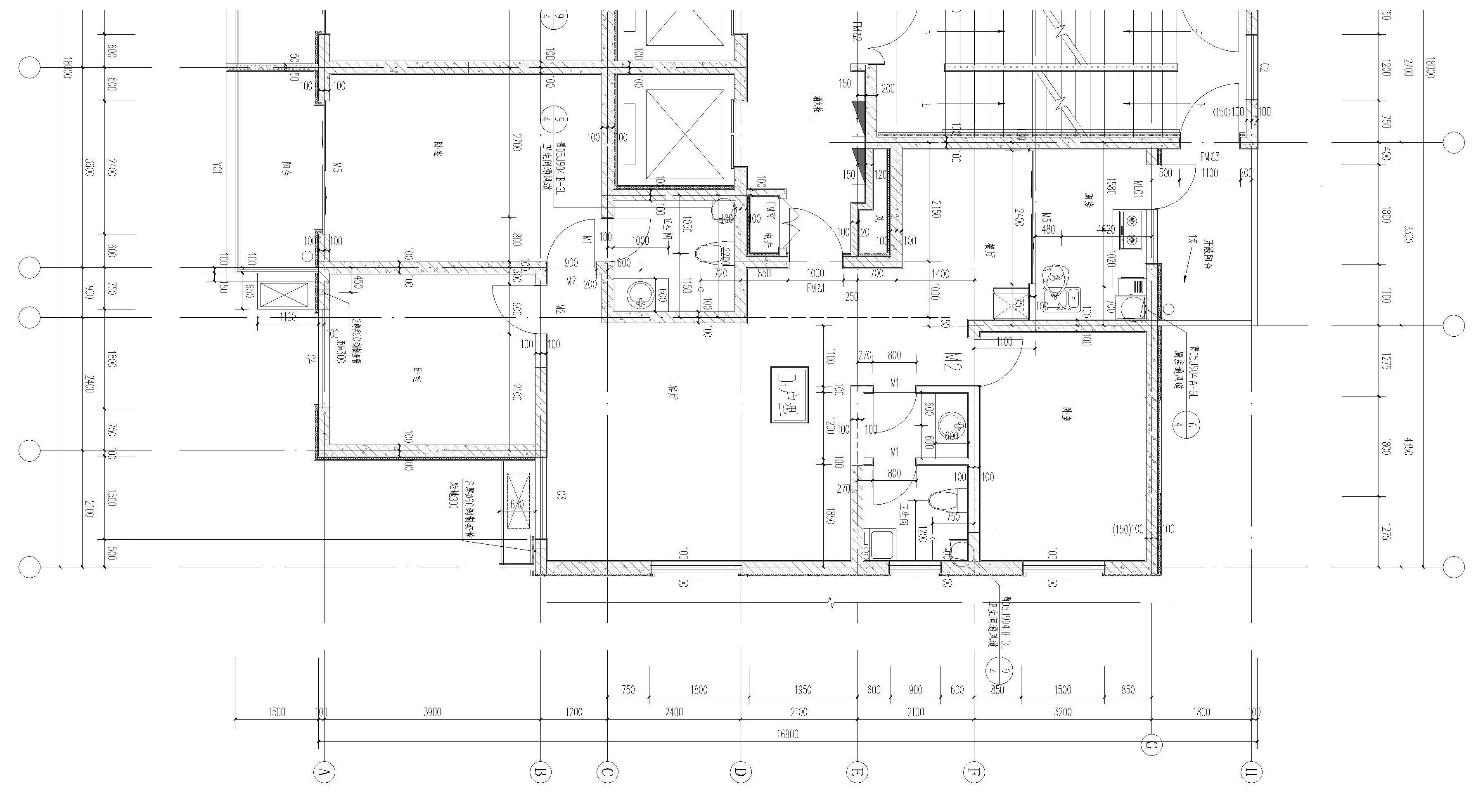 厨房设计平面图-l型厨房设计平面图-中餐厨房设计平面图-卫生间设计图片