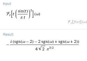 u(t)sint傅里叶变换