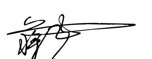 书法签名设计 蒋飞图片