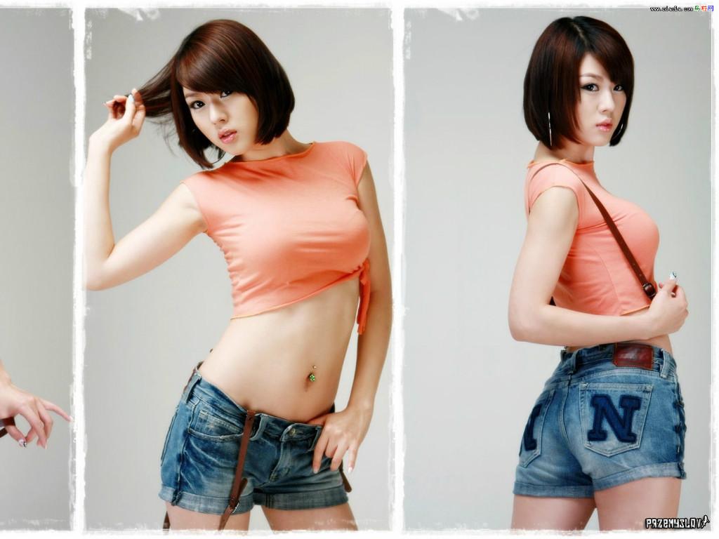 这位爱电影 爱运动的韩国极品美女虽然没有林智慧