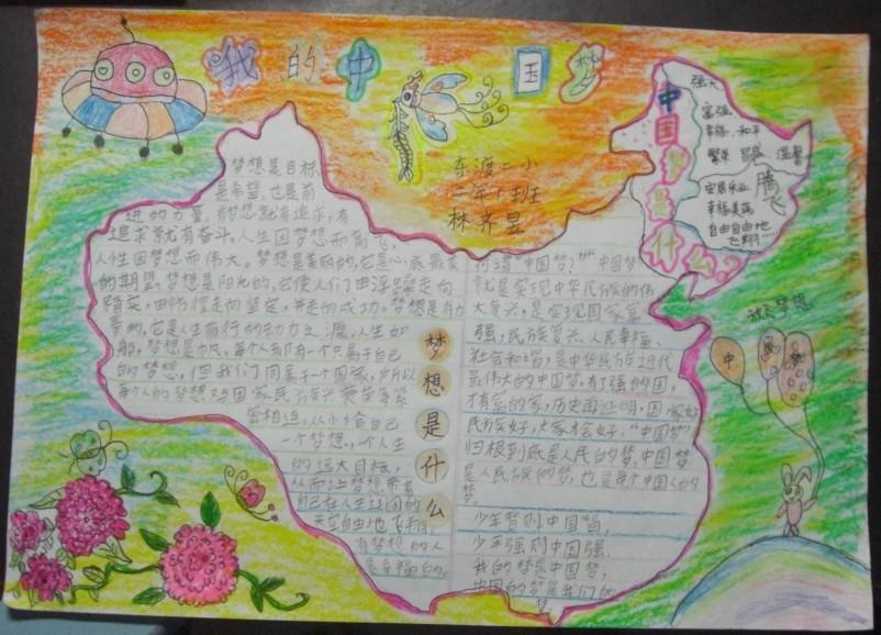 我的中国梦手抄报图片图片