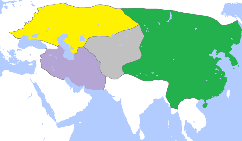 自从明朝成立以后蒙古和四大汗国还存在吗图片