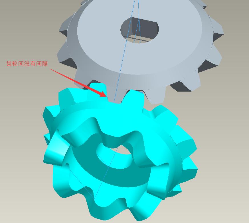 proe画斜齿轮,为什么画不了: 参数如下:mn=3,z=7,压力角=20,螺旋角=14图片