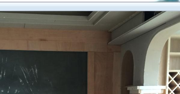 这样的石膏板吊顶怎么走石膏线条,我想简欧的风格,但是木工做了这种图片