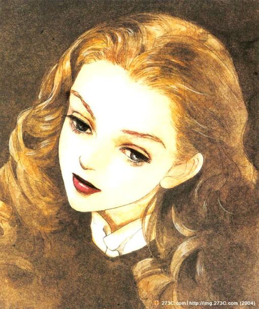 画图片_简单彩铅人物画_彩铅手绘人物画_好看的彩铅 ...