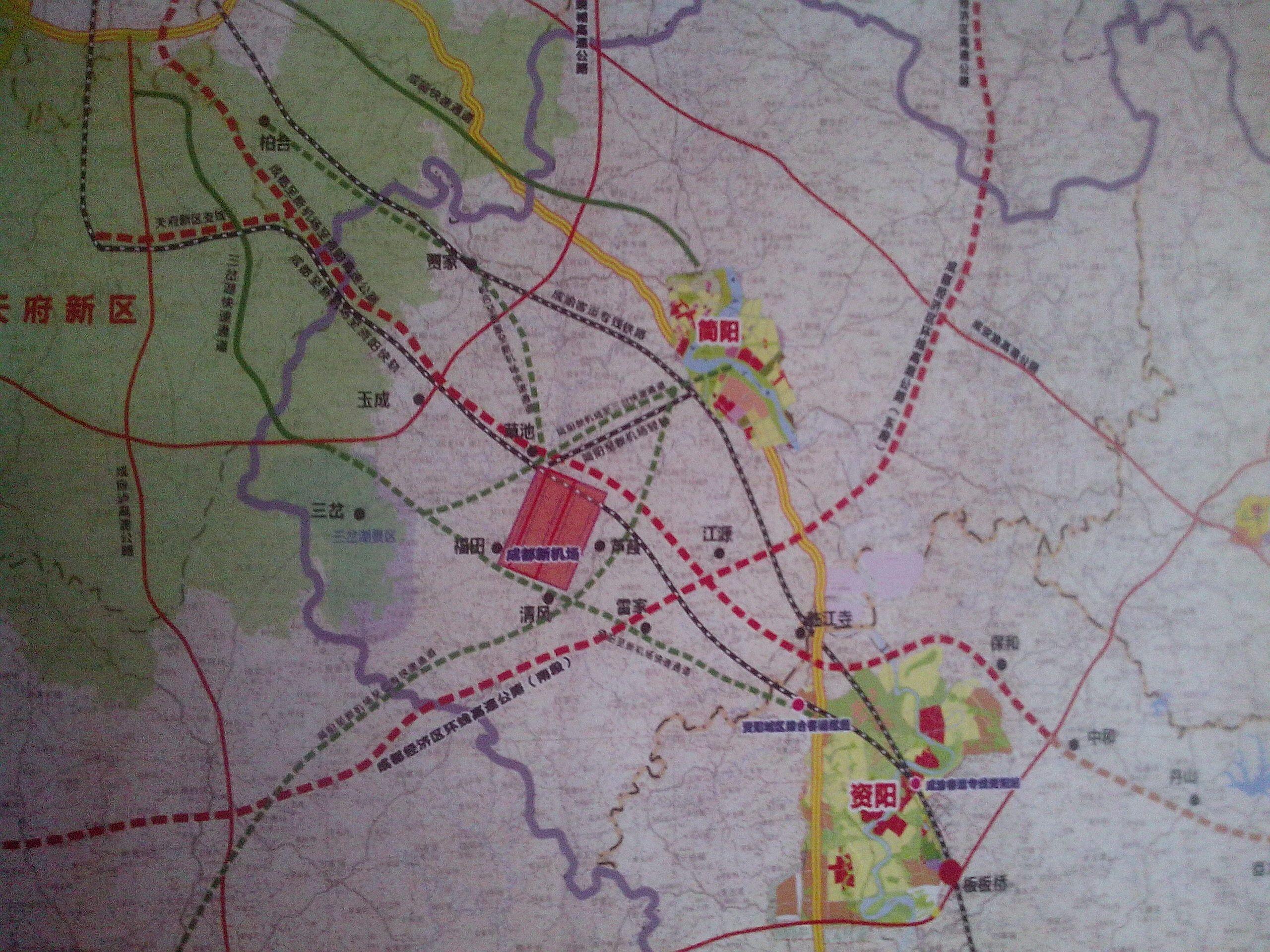 简阳机场位置_简阳机场规划是怎样的