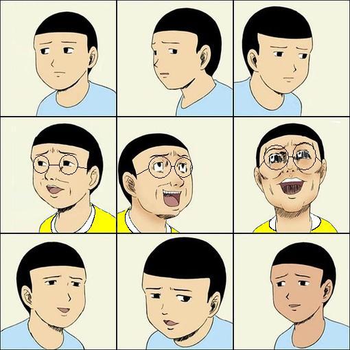 这个表情叫什么名字,另求一张此人比划剪刀手的表情图片