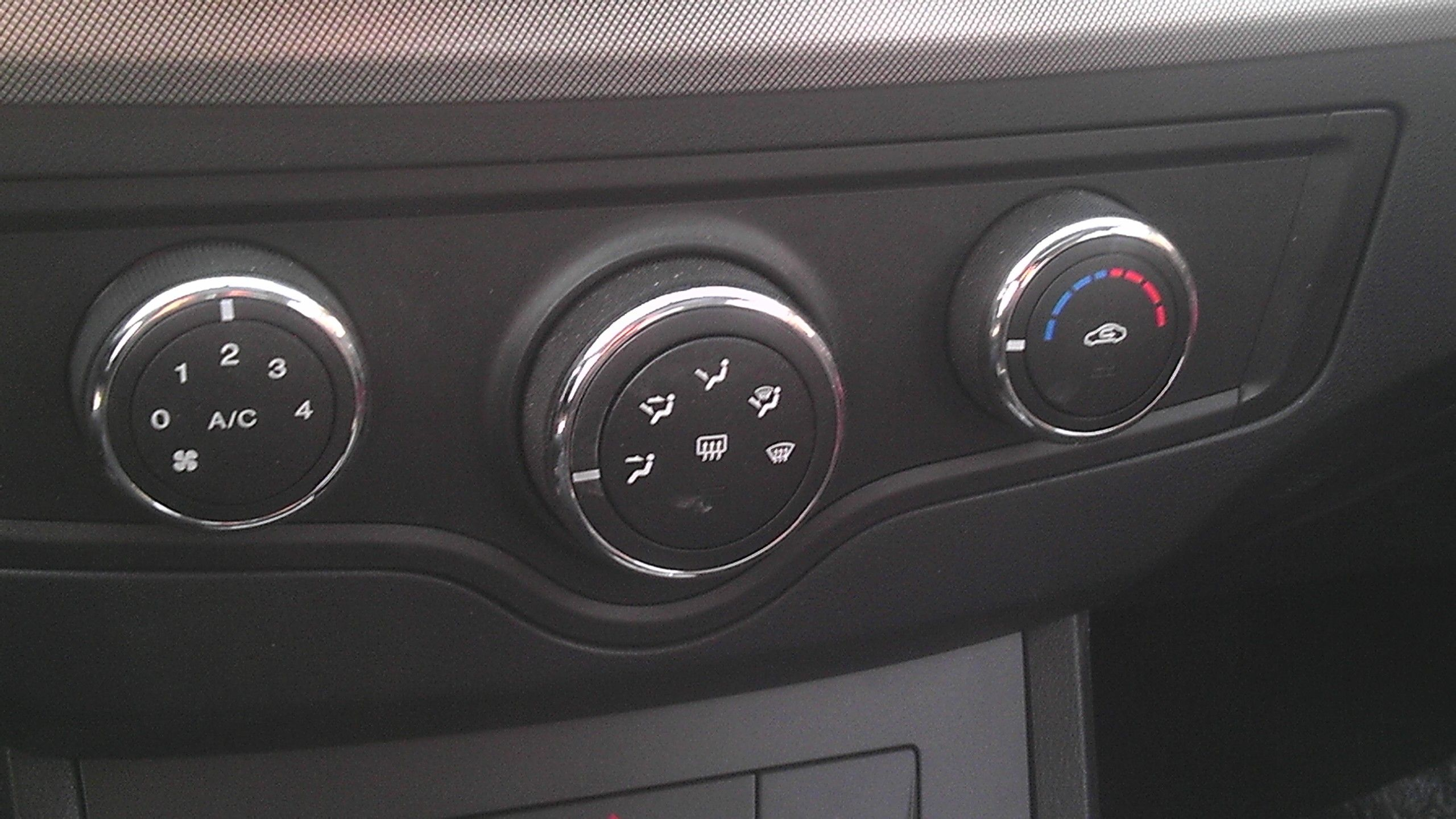 荣威350的空调到底制冷不制冷高清图片