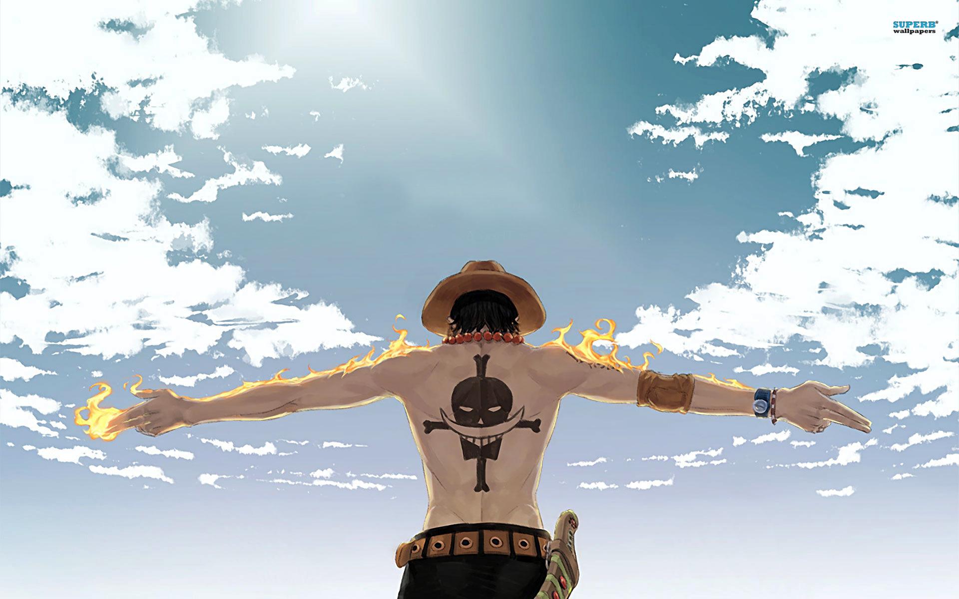 海贼王火拳艾斯之死 火拳艾斯最帅的图片 火拳艾斯壁纸 海