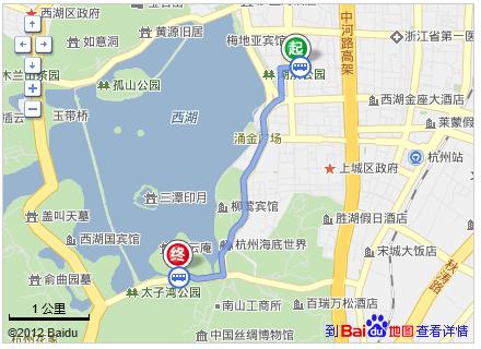 杭州怎么去雷峰塔
