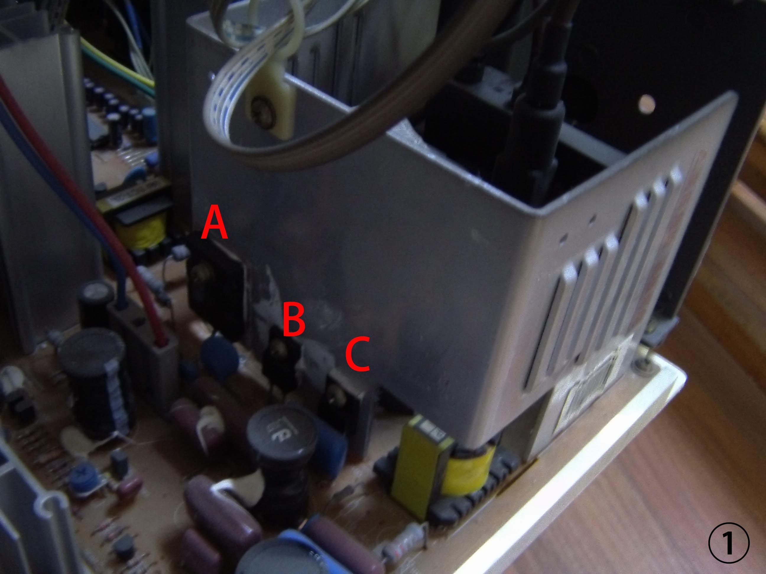 高压包放电是像图2一样用表笔一端接在这根线上高清图片