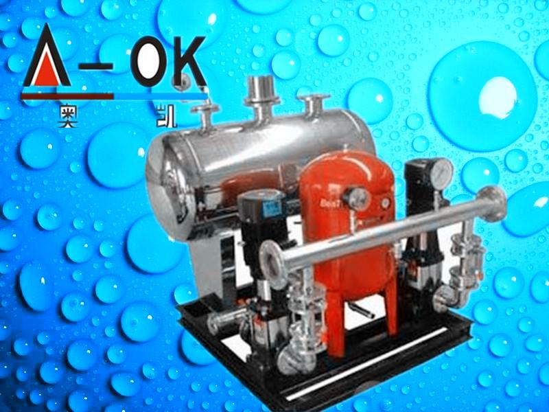 4.改造原有的气压供水设备