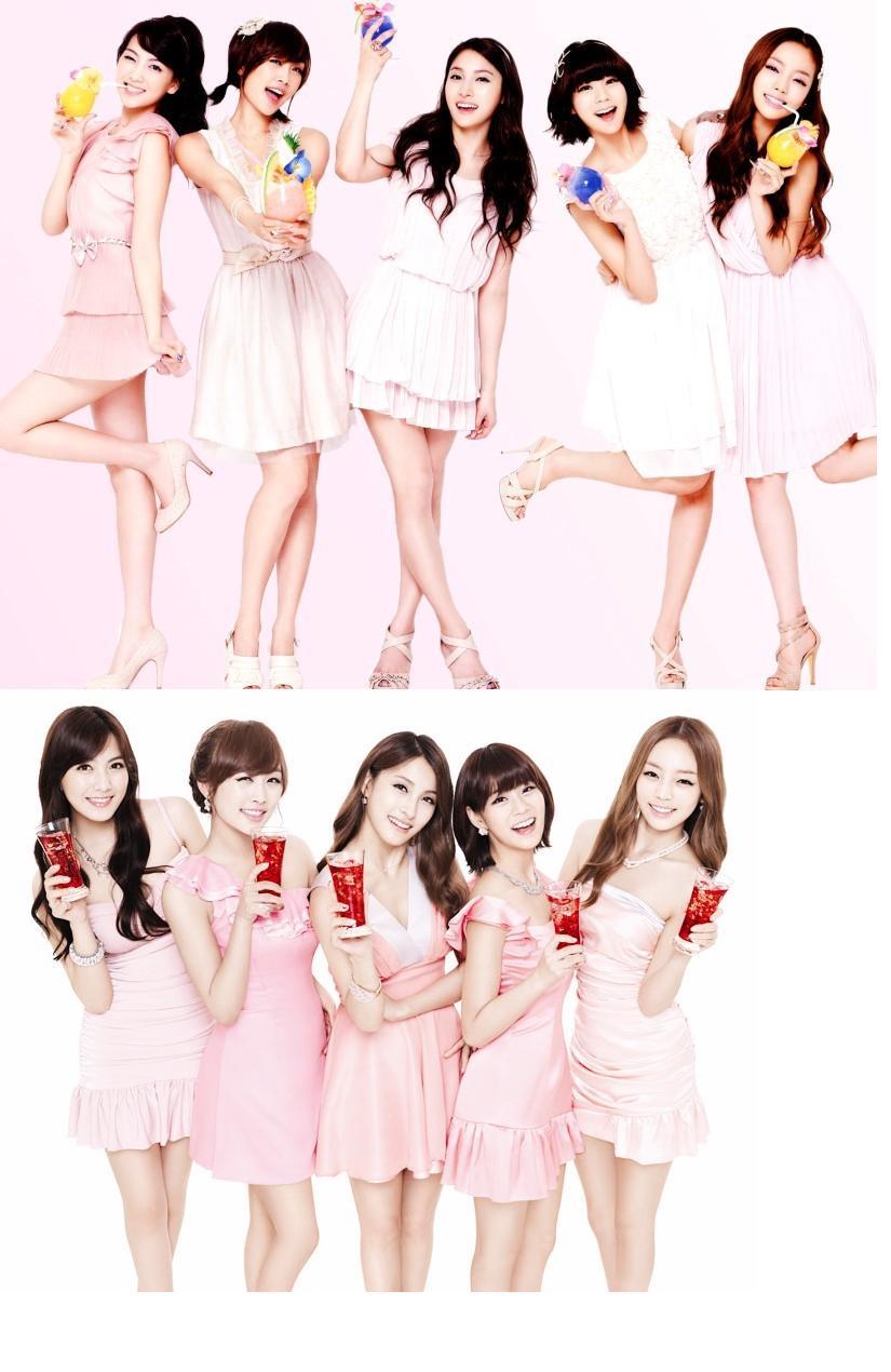 什么韩国美女组合最漂亮
