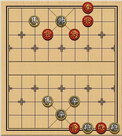 4399中国象棋残局321关求解图片