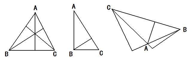 钝角三角形的内角和比锐角三角形的内角和大一些.是对图片