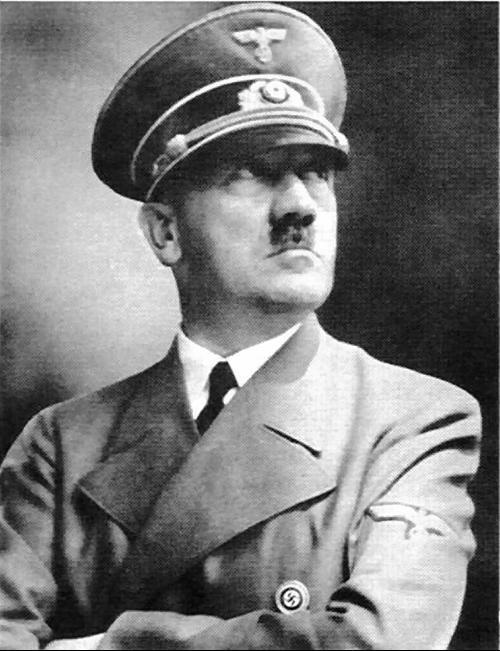 希特勒高清照片_求一张希特勒彩色头像