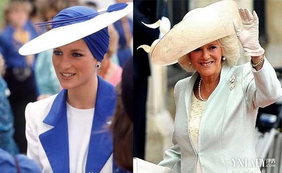 罕见的戴安娜王妃与卡米拉合照,两个人的容貌差距到底有多大