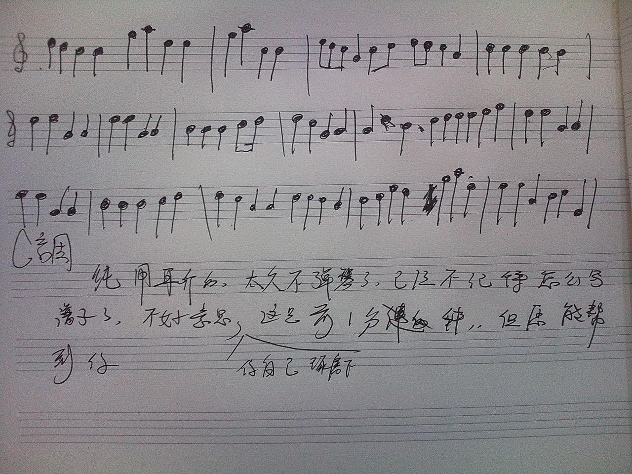 《speechless》的钢琴谱图片
