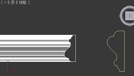 3dsmax用倒角剖面拾取剖面总图片