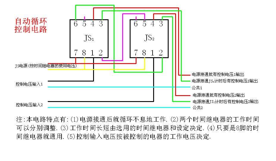 """然后电磁阀的一条线接在""""公共1""""端,另一条线接在""""电源接通就有控制图片"""