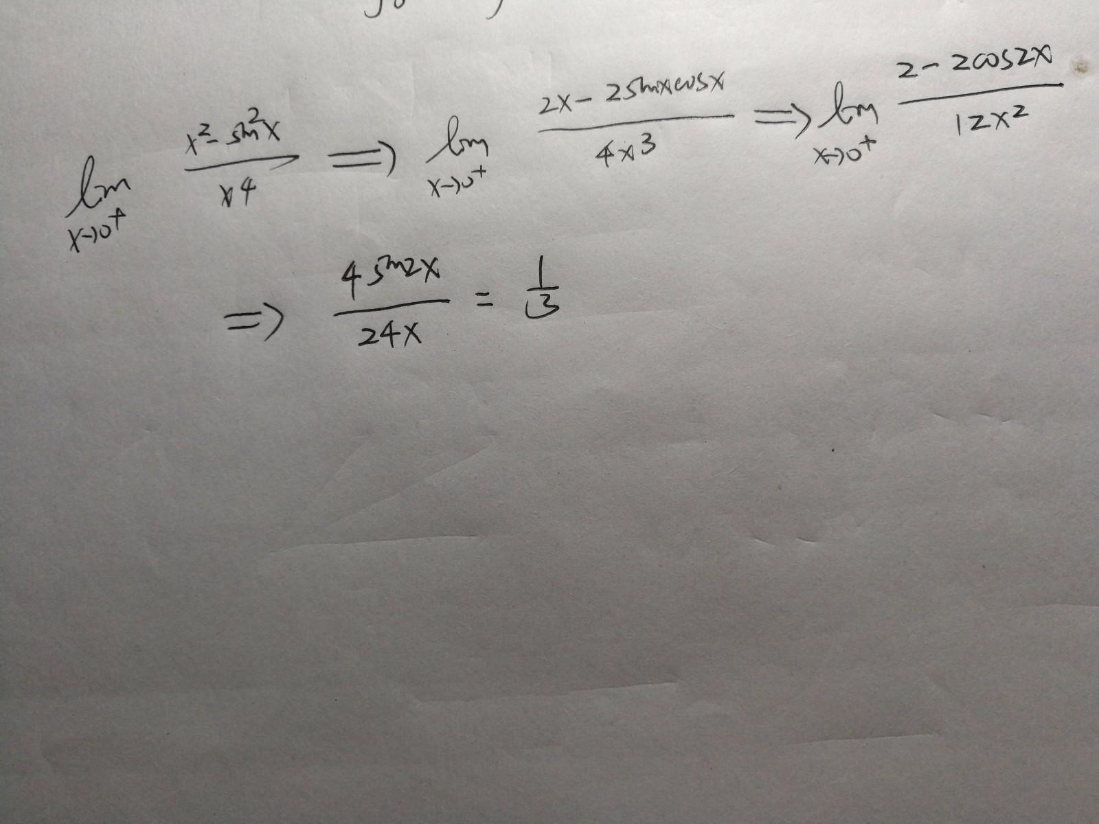 -sin^2x/x^4