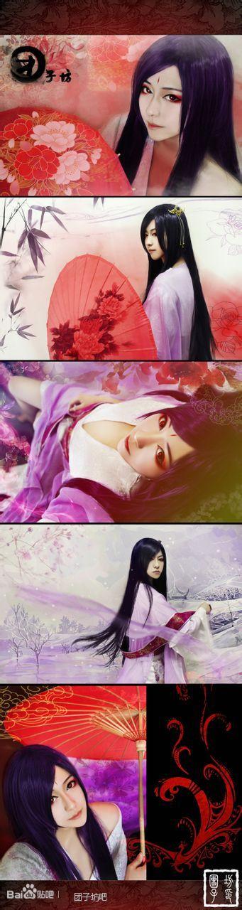 团子坊中cosplay白子画,杀阡陌,东方的人是谁?求照片图片