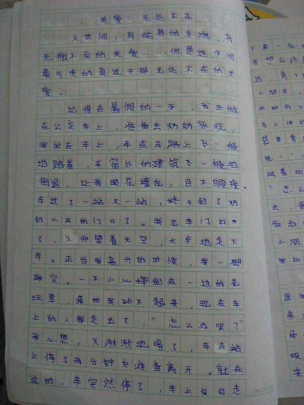 原来我作文被忽略500字从未15篇平南广西大新高中图片图片