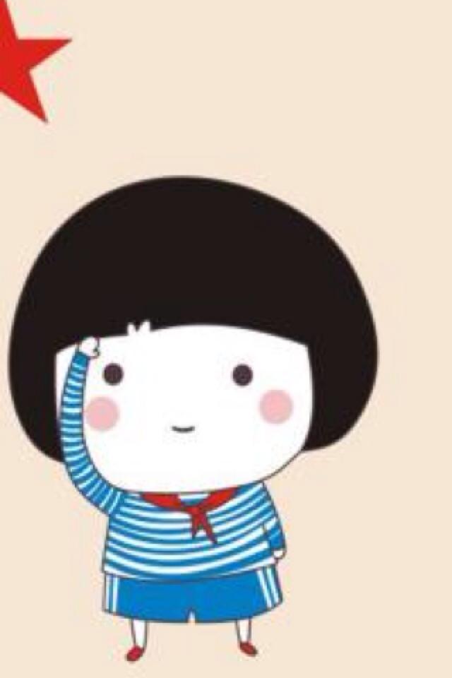超萌可爱小卡通图片 儿童卡通图片 消防车图片高清图片