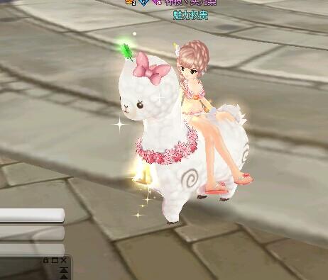 飞车羊驼妮妮_QQ飞车宠物羊驼妮妮的宠物技能和宠物功能