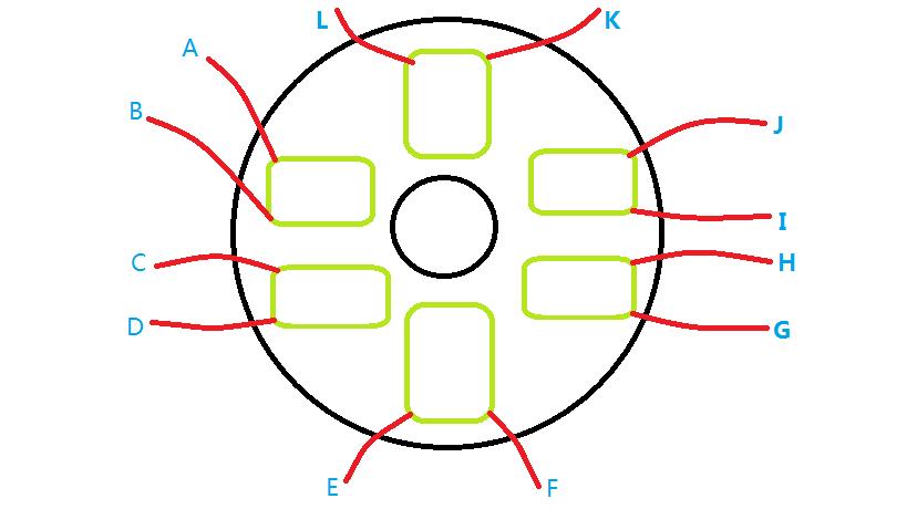 自制风力发电机线圈连接方法