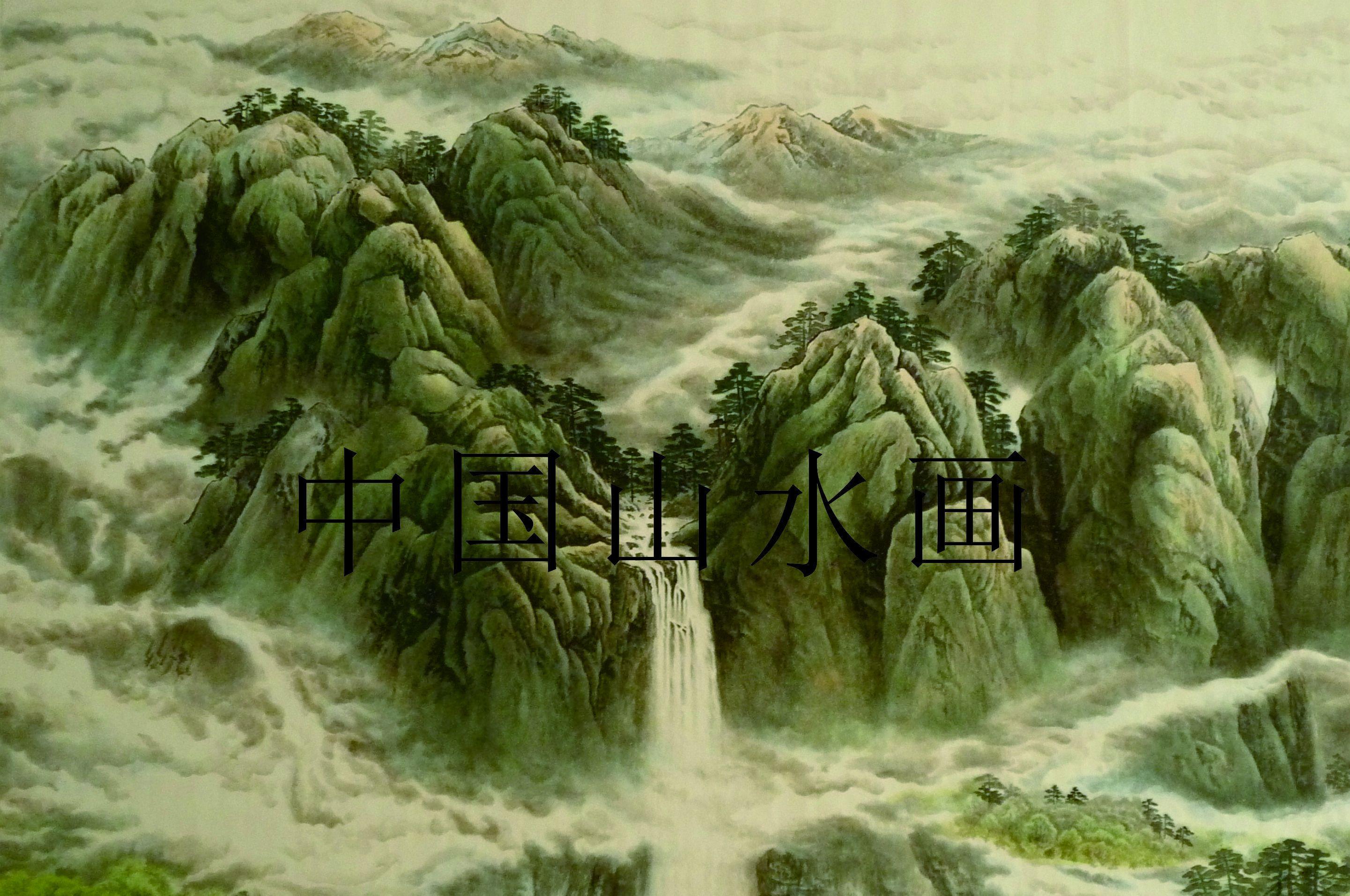 古诗山水画简笔画大全展示