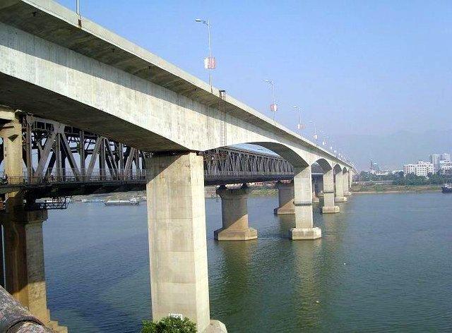 肇庆西江明�9�dy���f_肇庆西江大桥的大桥历史